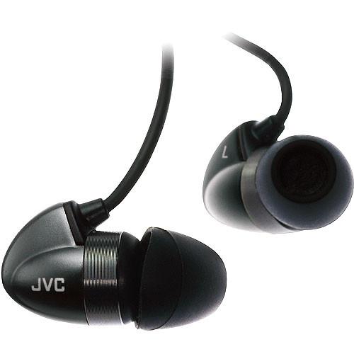 JVC HA-FX300 In-Ear Bi-METAL Headphones For Android Smartphone iPhone iPod BLACK