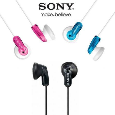 Sony MP3 In-Ear Earphones Enhanced Headphones MDR Sound For Smartphones  Thumbnail 1