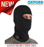 Oxford OF466 Balaclava Single Over-the-Head Flat Seam|Cotton|Black|NEW