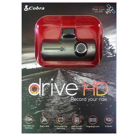 """Cobra Drive CDR840E Professional Truck/ Car DashCam Camera 1080p HD/ 1.5"""" Screen Thumbnail 5"""