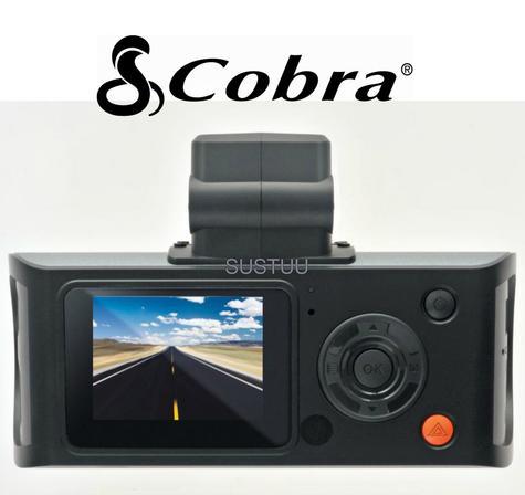 """Cobra Drive CDR840E Professional Truck/ Car DashCam Camera 1080p HD/ 1.5"""" Screen Thumbnail 6"""