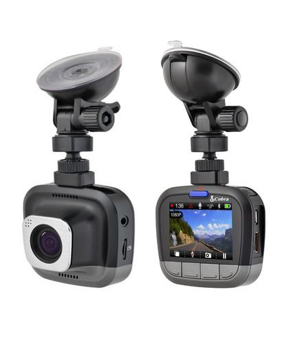 Cobra CDR 855 HD Ultra Wide DashCam 1080P HD Bluetooth & GPS Accident Recording  Thumbnail 5