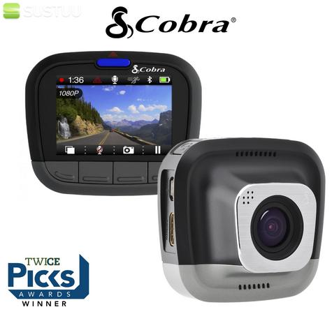 Cobra CDR 855 HD Ultra Wide DashCam 1080P HD Bluetooth & GPS Accident Recording  Thumbnail 4