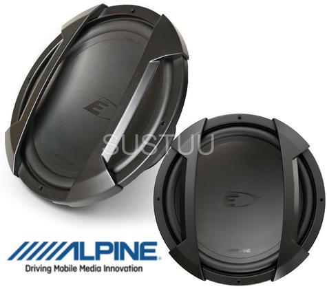 ALPINE SWE 1044E In car Sound Vehicle Audio Speaker Subwoofer Thumbnail 1
