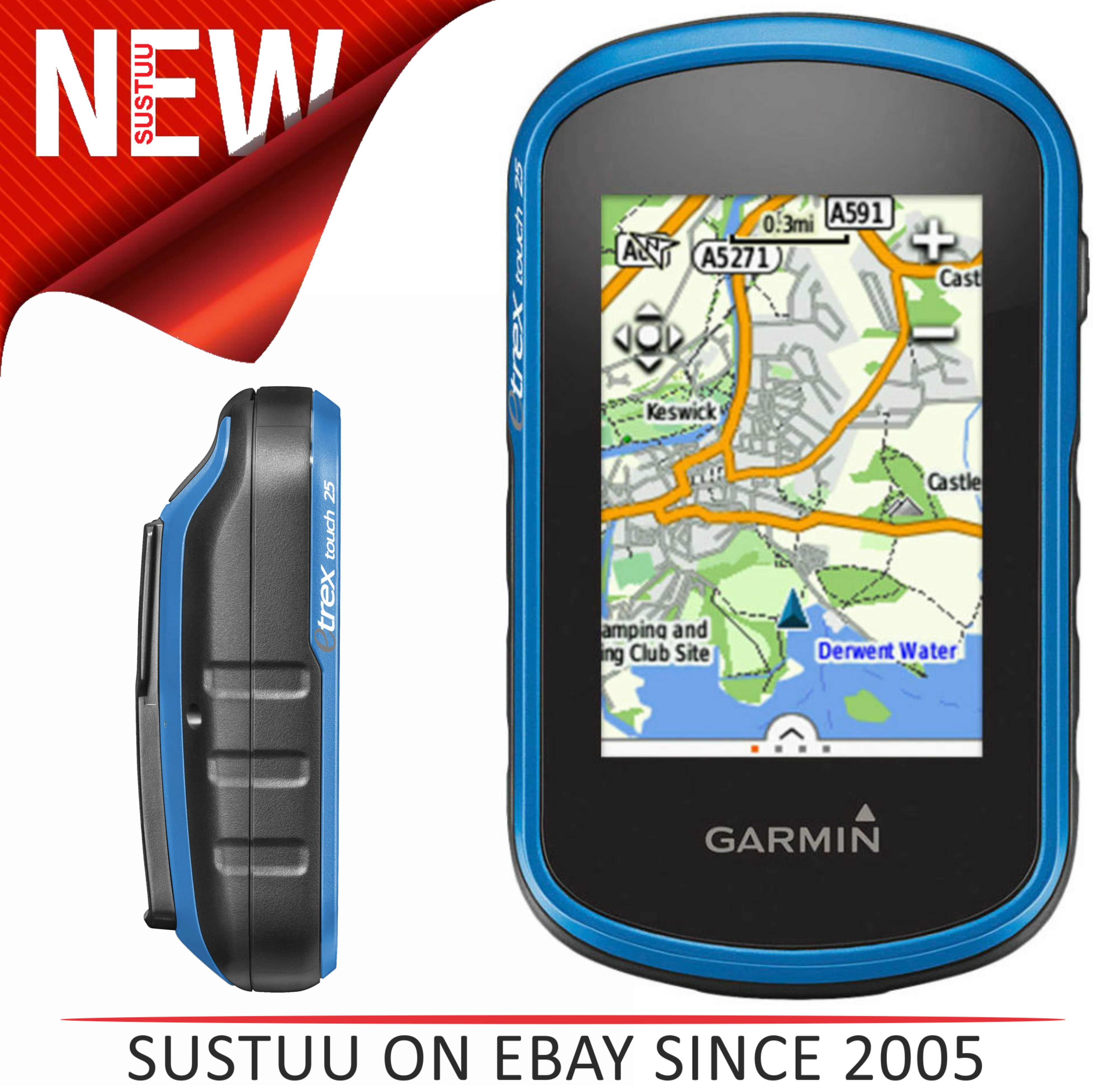 Garmin Etrex Touch 25 | Outdoor Handheld GPS | With ... on