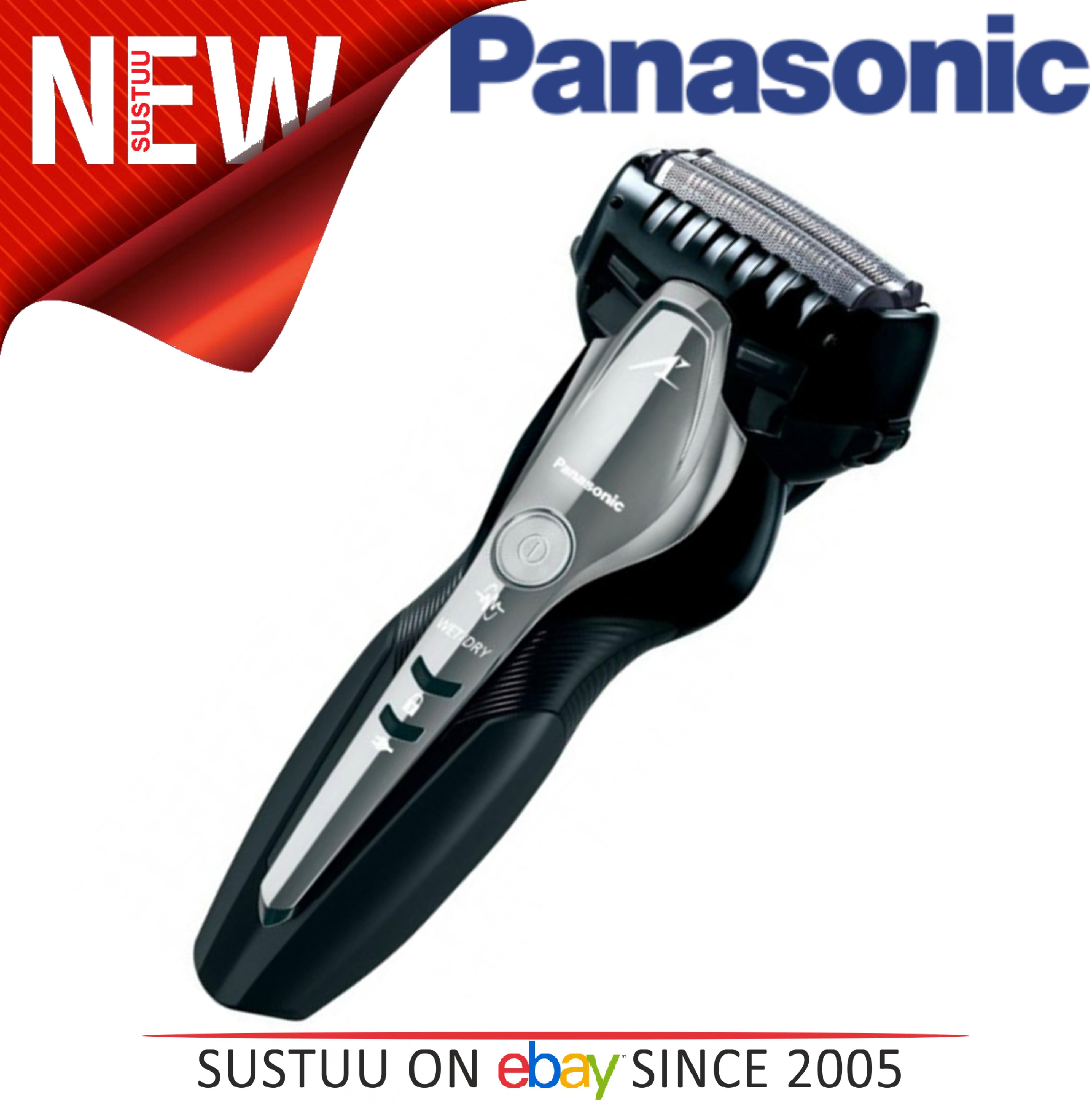 PanasonicESST3NK Men's Wet & Dry Electric Shaver?Multi-Fit Arc Blades?Slit Foil