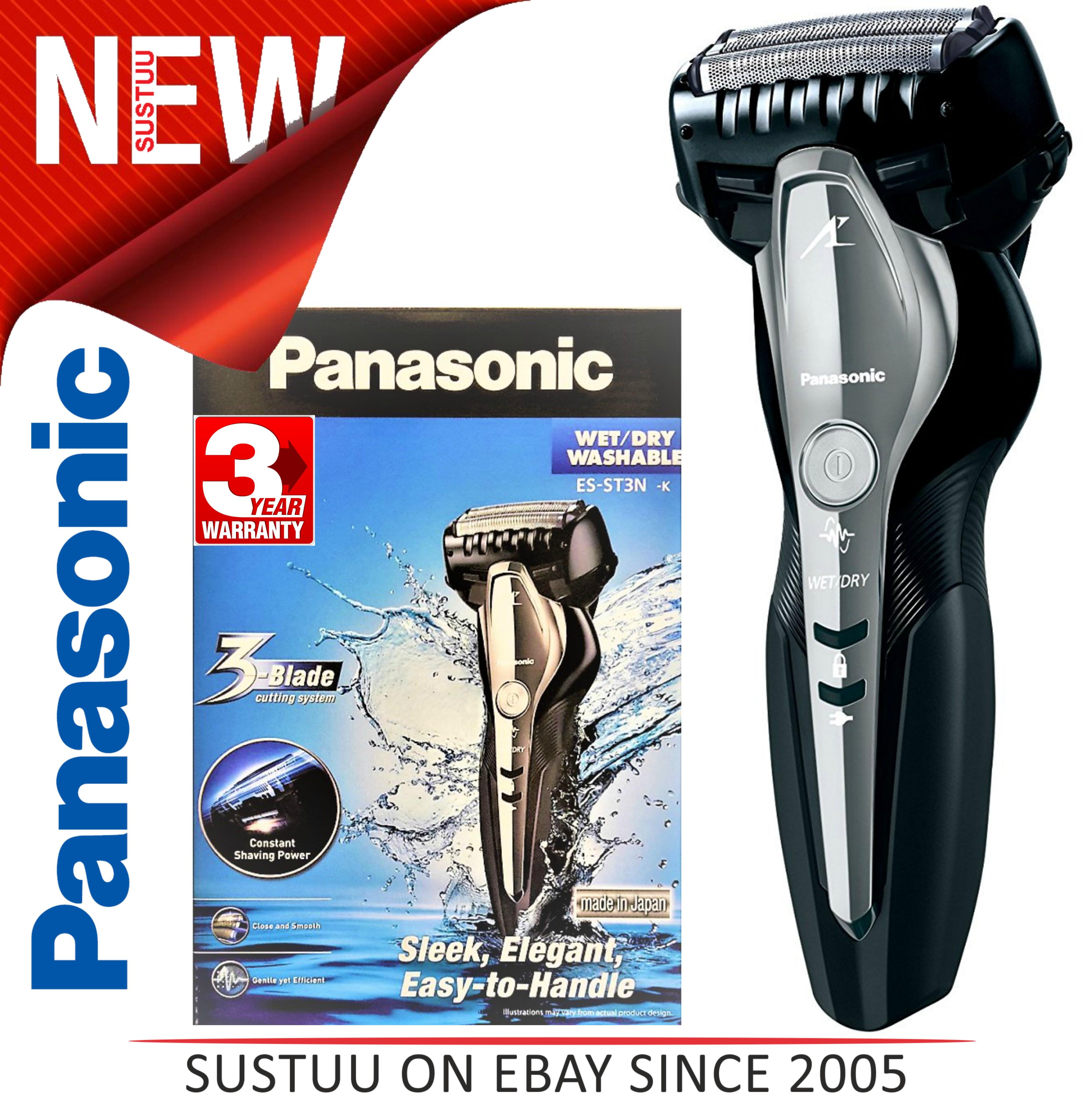 Panasonic Linear Drive Men's Electric Shaver?Wet & Dry?Multi-Arc Blades?ES-ST3NK