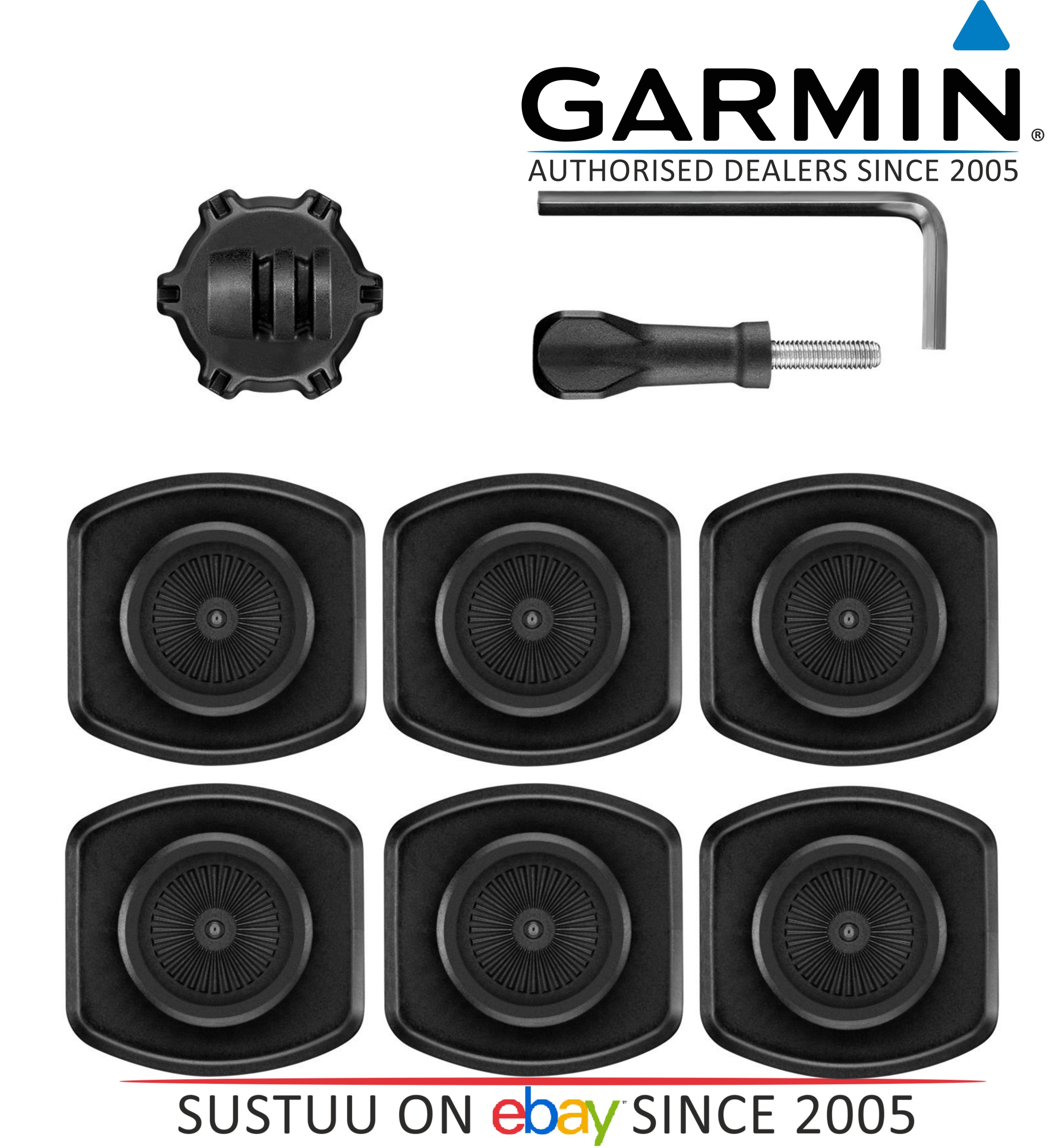 NEW Garmin 010-12256-27 Pivoting Mount Base Kit VIRB X/XE/ULTRA 30 Action Camera