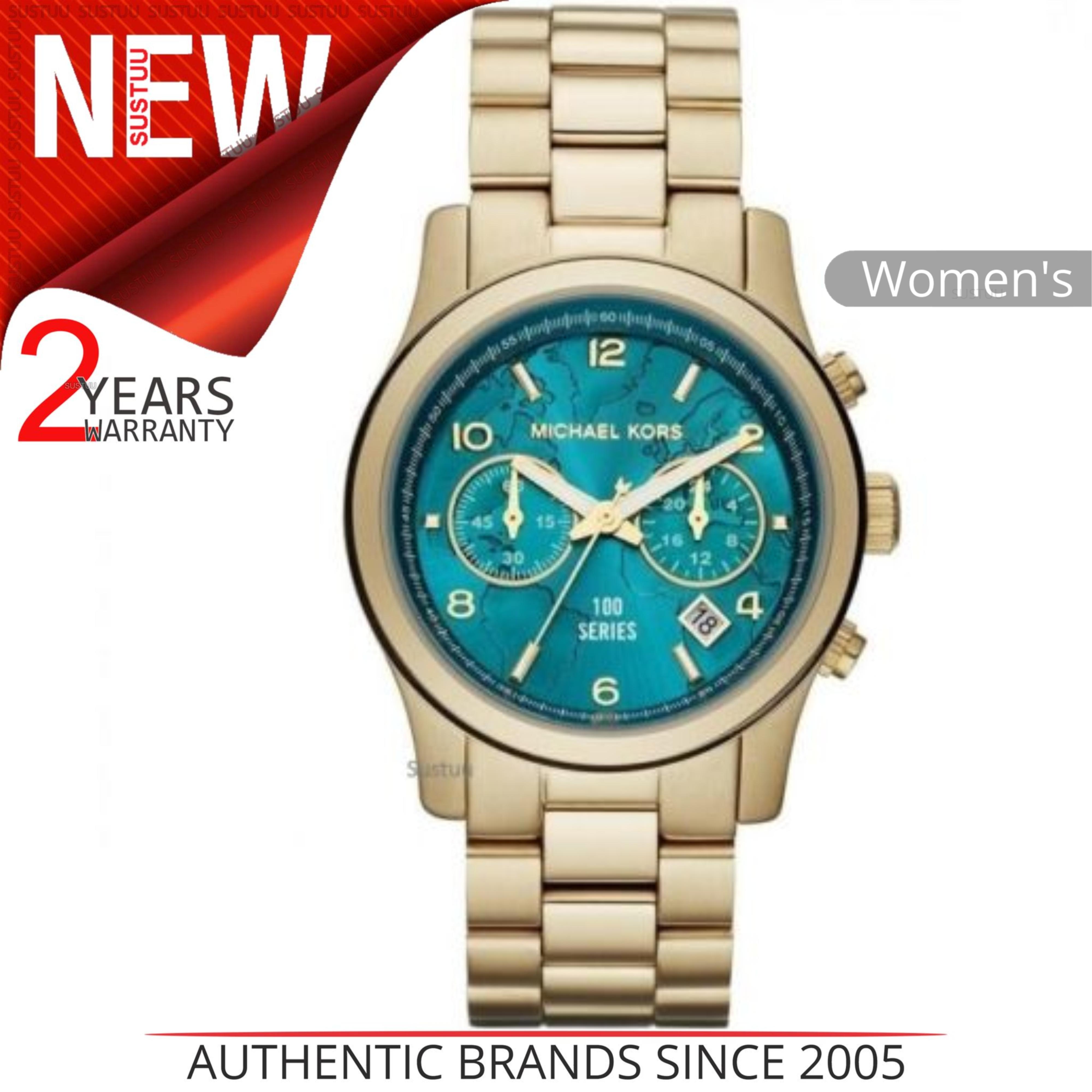 Michael Kors Runway Ladies Watch | Hunger Stop Edition | Gold Bracelet Strap | MK5815