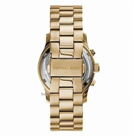 Michael Kors Ladies Runway Watch Hunger Stop 100 Series Edition Bracelet Strap Thumbnail 4