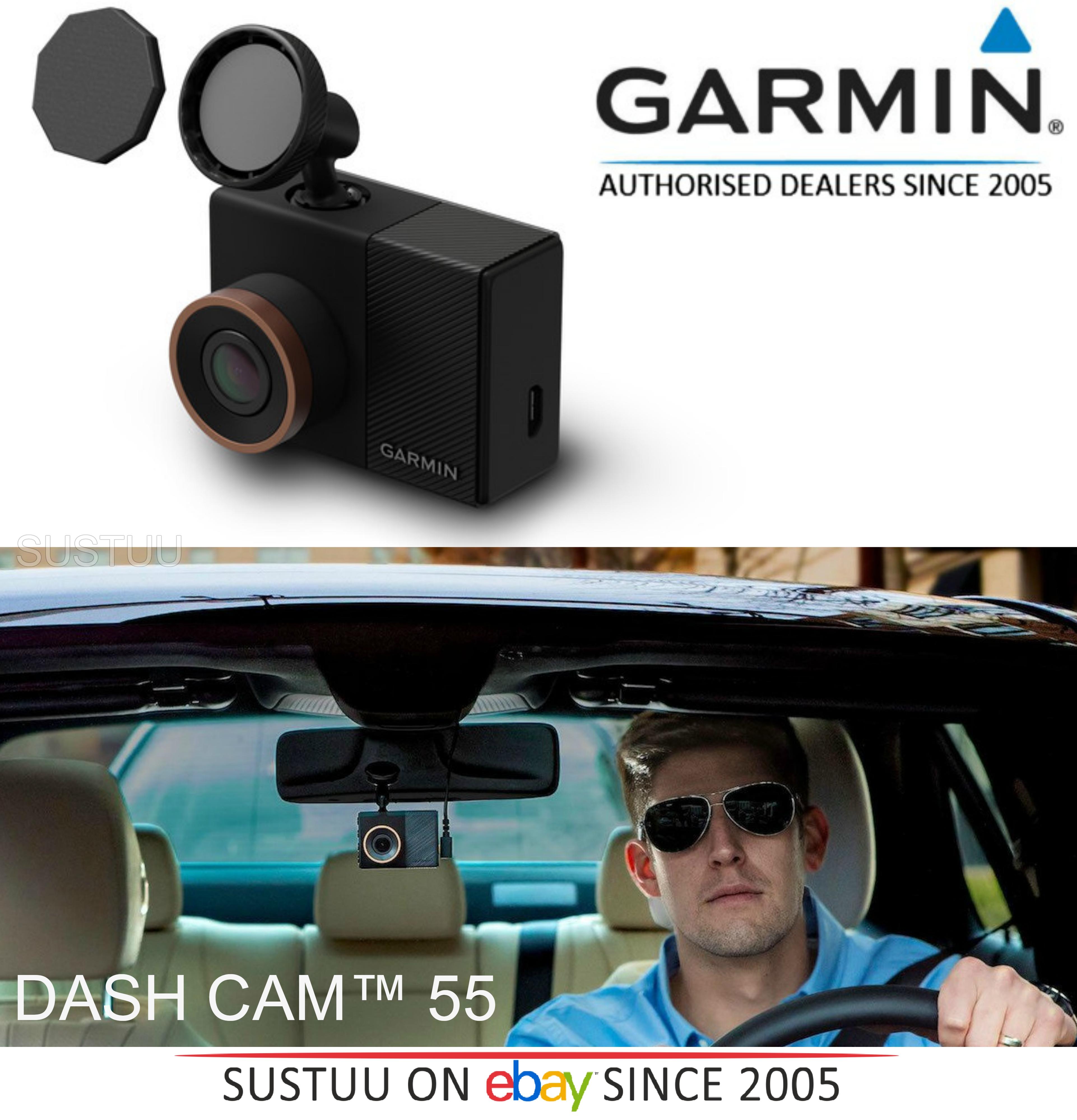 garmin dash cam 55 hq 1440p gps g sensor driving alerts. Black Bedroom Furniture Sets. Home Design Ideas