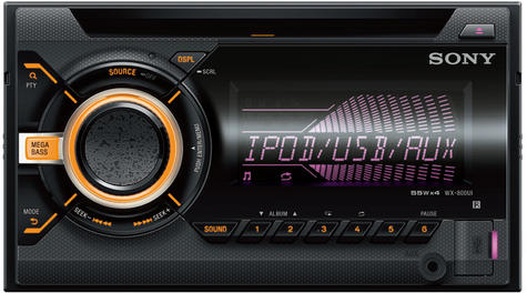Sony WX 800UI|Double Din|CD|Radio|AUX|USB|Multicolor Illumination|Apple Android Thumbnail 5