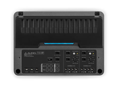 JL Audio RD400/4 4 Ch. Class D Full-Range Car Amplifier 400W  with NexD? tech  Thumbnail 3