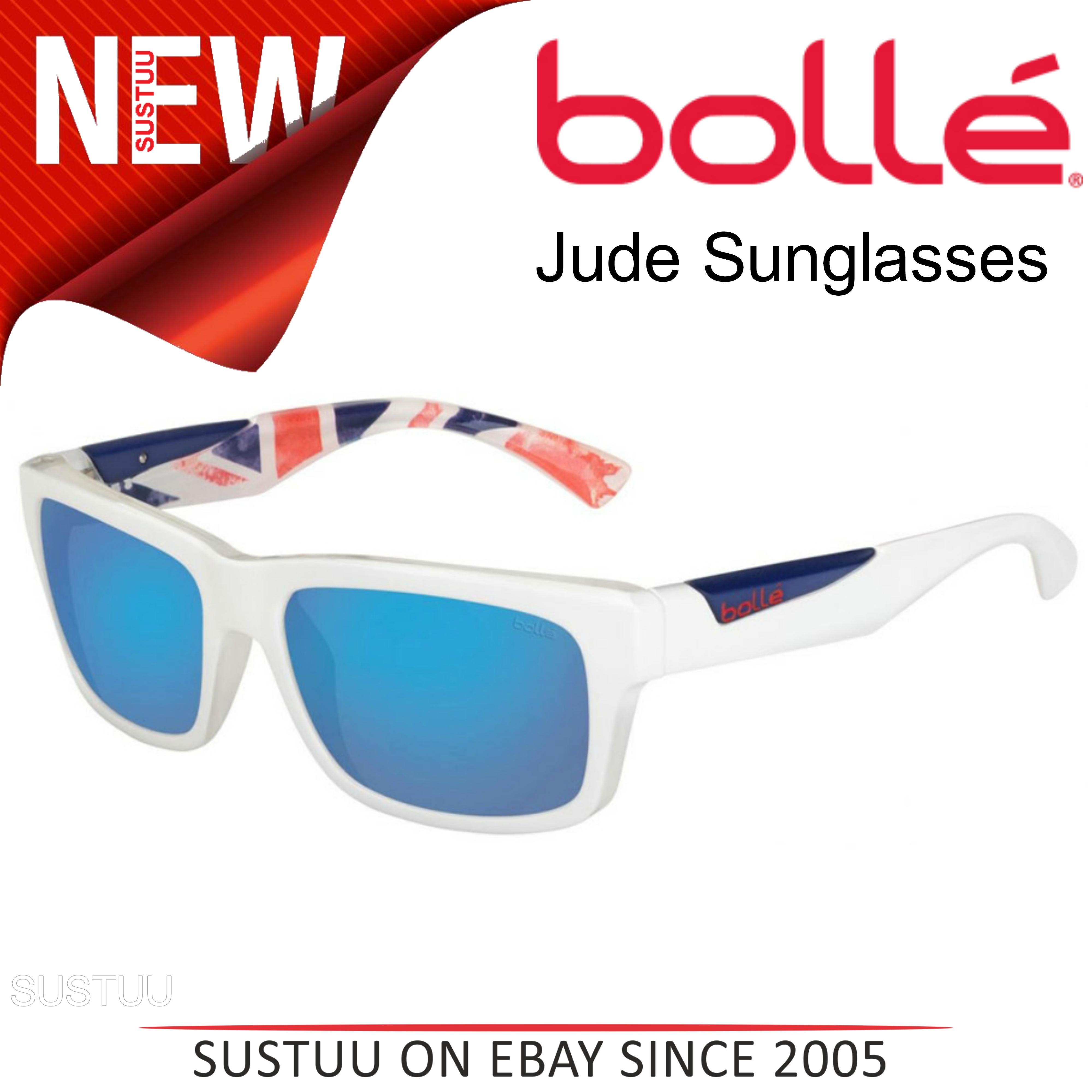 6eea850a9b CENTINELA Bollé Jude Sunglasses│Matte White Reino Unido  Olympic│Polarized│Offshore azul Lens│