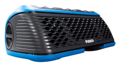 Fusion StereoActive Waterproof Floating Bluetooth Speaker USB/AM/FM iPhone BLUE Thumbnail 1