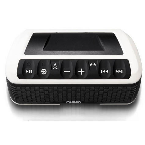Fusion StereoActive Port.Floating Bluetooth Speaker|USB/AM/FM/iPhone|IPx7|White Thumbnail 6