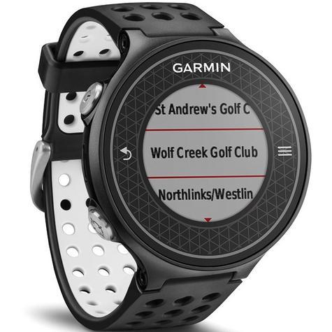 Garmin Approach S6|GPS Rangefinder Golf Watch|38000 Worldwide Golf Courses|Black Thumbnail 4