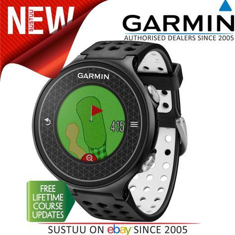 Garmin Approach S6|GPS Rangefinder Golf Watch|38000 Worldwide Golf Courses|Black Thumbnail 1