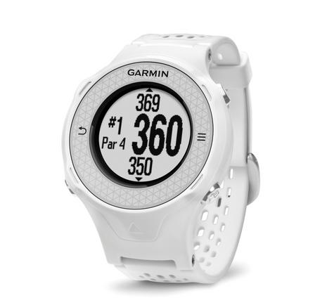 Garmin Approach S4 GPS Golf Watch Rangefinder|38000 Worldwide GolfCourses|White Thumbnail 3