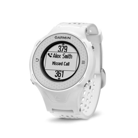Garmin Approach S4 GPS Golf Watch Rangefinder|38000 Worldwide GolfCourses|White Thumbnail 4