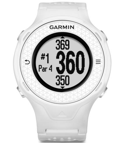 Garmin Approach S4 GPS Golf Watch Rangefinder|38000 Worldwide GolfCourses|White Thumbnail 8