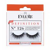 Eylure Definition 126 Ladies Adhesive Reusable Easy Apply False Strip Eyelashers
