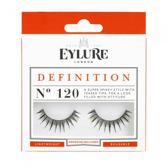 Eylure Definition 120 Ladies Adhesive Reusable Easy Apply False Strip Eyelashers