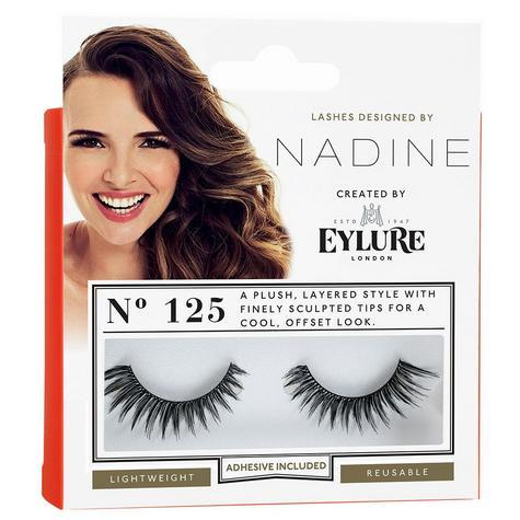 Eylure Nadine Definition 125 Ladies Adhesive Reusable Easy Apply False Eyelasher Thumbnail 2
