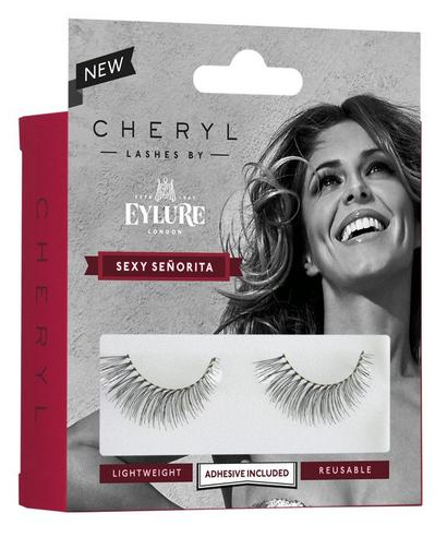 Cheryl Lashes by Eylure Sexy Seniorita Ladies Adhesive Easy Reusable Eyelashers Thumbnail 4