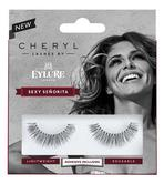 Cheryl Lashes by Eylure Sexy Seniorita Ladies Adhesive Easy Reusable Eyelashers