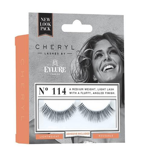 Cheryl Length Lashes by Eylure 114 Ladies Adhesive Easy Reusable Eyelashers Thumbnail 2