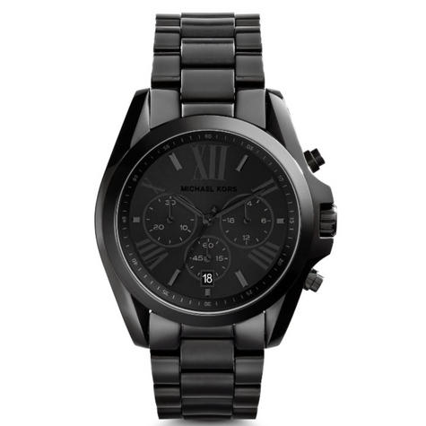 Michael Kors Bradshaw Unisex Watch|Black Chronograph Dial|Bracelet Band|MK5550 Thumbnail 2