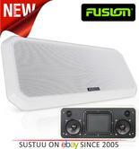 Fusion RV-FS402W Sound Panel Shallow Mount Speaker System   IP65   Marine/Boat   White