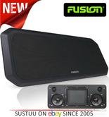Fusion RV-FS402B Sound Panel Shallow Mount Speaker System | IP65 | Marine/Boat | Black