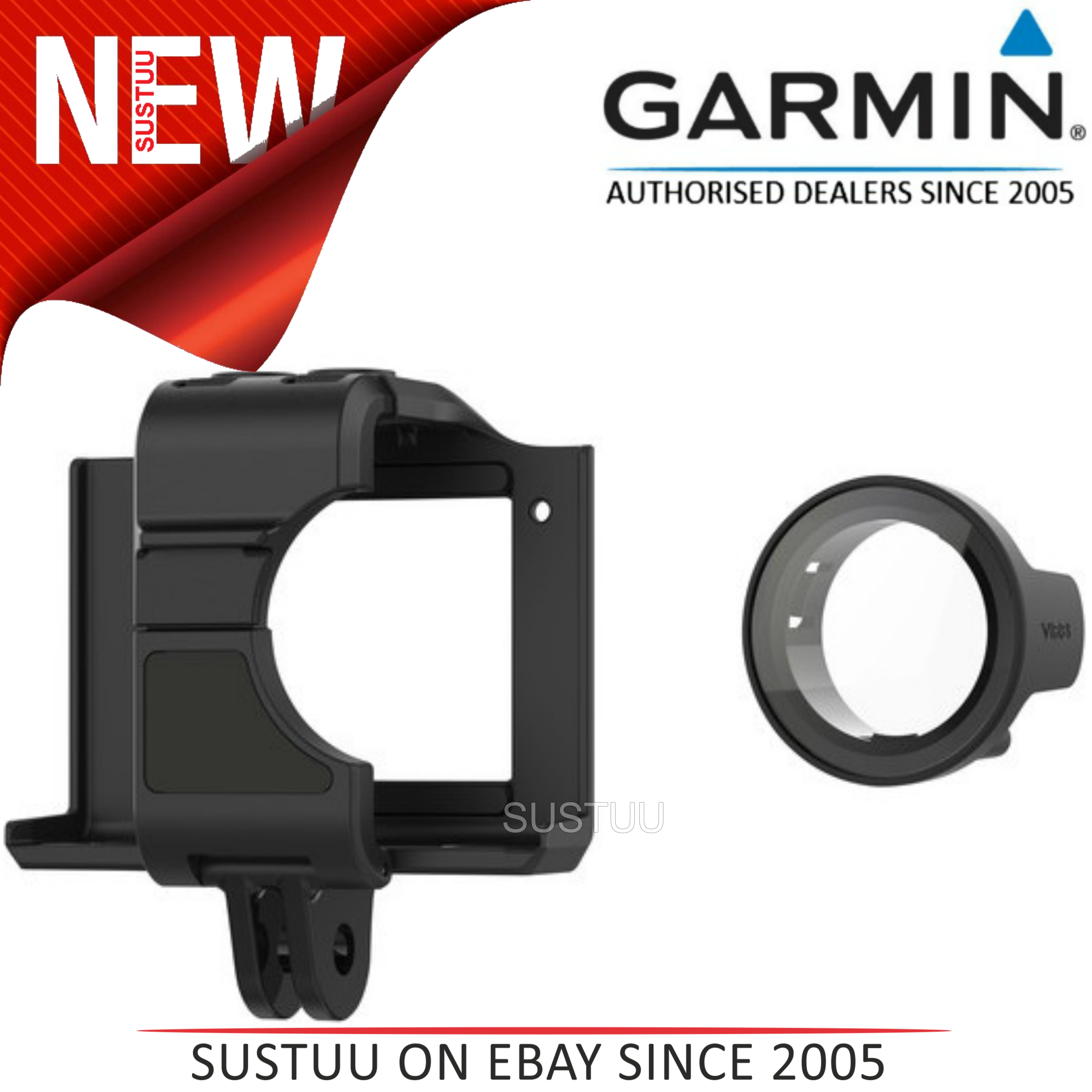 Garmin 010-12389-12?Cage Mount with Protective Lens?For VIRB Ultra 30 Camera NEW