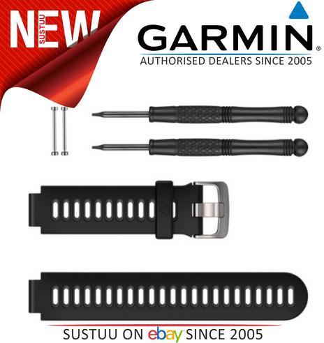 Garmin Replacement Watch Strap Band?For Forerunner 230/235/630/735XT?Black Thumbnail 1