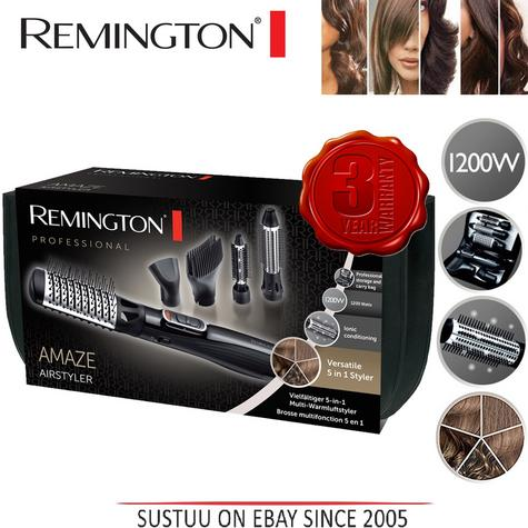 Remington Amaze Smooth & Volume 5 in 1 Hot Air Hair Brush Airstyler AS1220 New Thumbnail 1