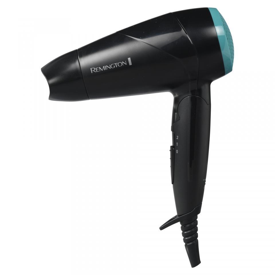 Remington World Voltage Compact Travel Hair Dryer Diffuser Folding Handle 2000W
