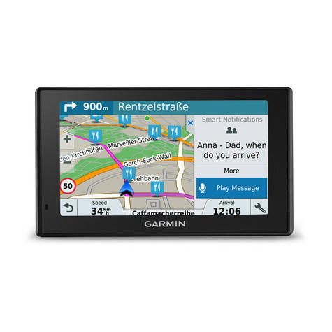 "Garmin 010-01680-32 Drive 51 LMT-S UK/IRE 5"" Display/Wifi/LIFETIME MAP/Bluetooth Thumbnail 5"