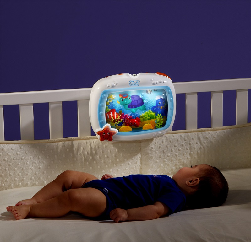 baby einstein crib sea dream soother melodise music