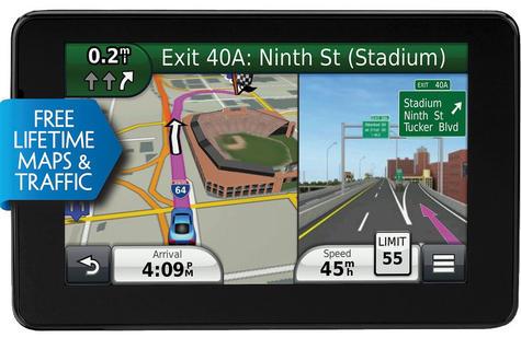 Garmin Nuvi 3590LMT|GPS SatNav|Voice Reco.|*Lifetime UK Europe Maps + 3D Traffic Thumbnail 2