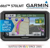 "Garmin DEZL 570LMT|5"" Truck HGV GPS SatNav|*FREE LifeTime UK Europe Maps-Traffic"