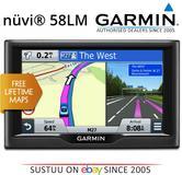 "Garmin Nuvi 58LM EU?5"" In Car GPS SATNAV | Free LifeTime UK Europe Maps Updates"
