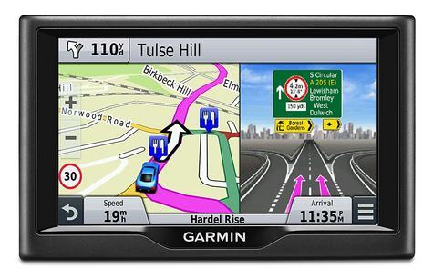 "Garmin Nuvi 58LMT|5"" Car GPS SatNav|Free LifeTime UK Europe Maps+Traffic Updates Thumbnail 2"