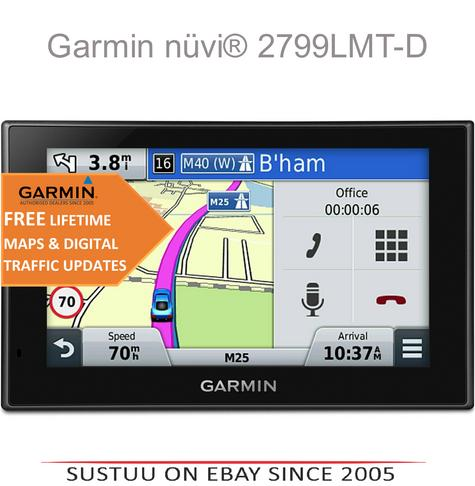 "Garmin Nuvi 2799LMT-D|7""GPS SatNav