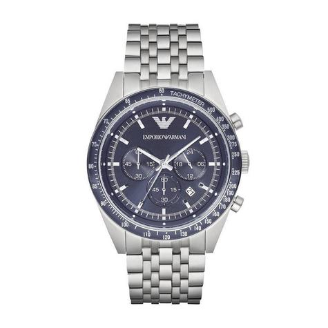 Emporio Armani Sportivo Gent's Stainless Steel Tazio Chronograph Watch AR6072 Thumbnail 1