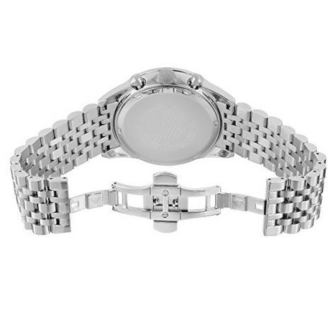 Emporio Armani Sportivo Gent's Stainless Steel Tazio Chronograph Watch AR6072 Thumbnail 5