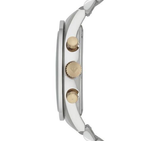 Emporio Armani Sportivo Gent's Stainless Steel Tazio Chronograph Watch AR6088 Thumbnail 3