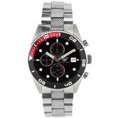 Emporio Armani Gent's Stainless Steel Chronograph Watch AR5855