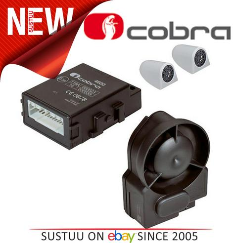 Cobra A4615 P2DC Thatcham Cat 2-1 Wireless Canbus Alarm System With 2 ADR Cards Thumbnail 1